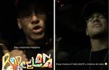 Longe do carnaval, mas animado: Neymar se diverte em passeio  (snapchat)