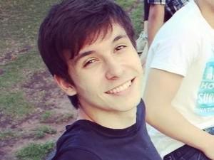 Luca estudante brasileiro morto no Canadá (Foto: Divulgação/Arquivo Pessoal)