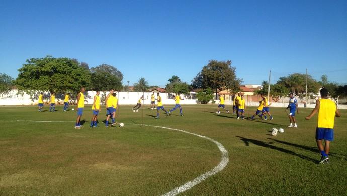 Treino do Palmas - Tocantins (Foto: Cyntia Miranda/GloboEsporte.com)