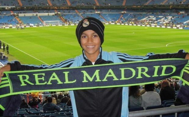 Joshua Pynadath, americano de 11 anos do Real Madrid (Foto: Reprodução)