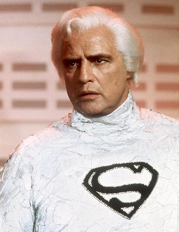 Marlon Brando em Superman: O Filme (1978) (Foto: Divulgação)