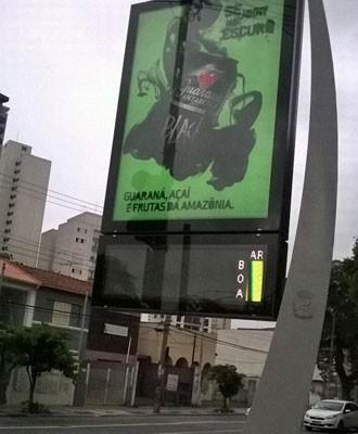 Refrigerante foi anunciado como uma mistura do guaraná, açaí e frutas da Amazônia (Foto: Darlan Alvarenga/G1)