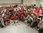 FOTOS: Inter festeja o pentacampeonato do Gauchão