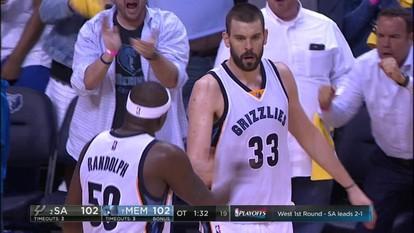 Melhores momentos de San Antonio Spurs 108 x 110 Memphis Grizzlies pela NBA