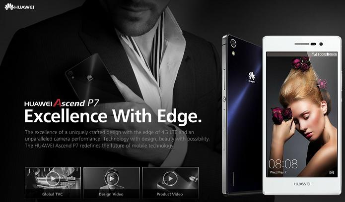Huawei anunciou novo smartphone nesta quarta (Foto: Divulgação/Huawei)