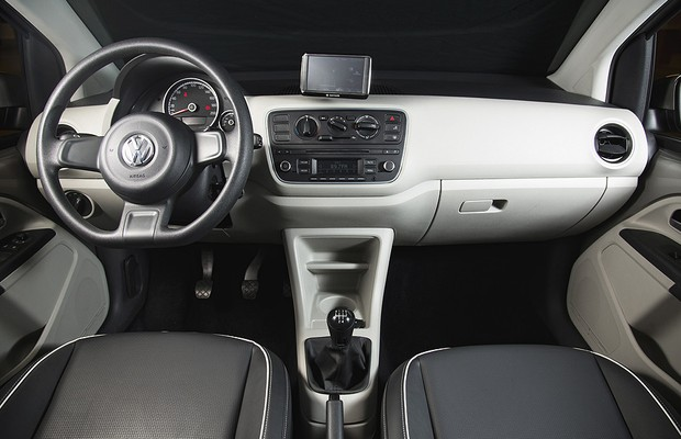 Interior VW up! (Foto: Fabio Aro)