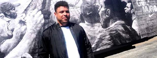 RONALDO GOL MURO NO CT CORINHIANS (Foto: Marcos Ribolli / globoesporte.com)