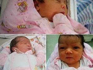 Bebê foi levado de dentro de casa, em Santa Maria, nesta quarta-feira (2)  (Foto: Ely Suelen Vicente/Arquivo pessoal)