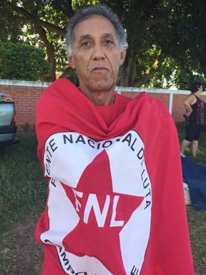 O coordenador da FNL, João Roberto Bueno (Foto: Claudinei Troiano/TV Fronteira)