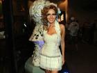 Leona Cavali se prepara para desfile em homenagem a Marília Pêra