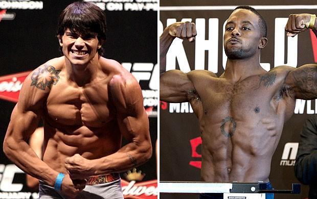 montagem Erick Silva x Jason High UFC (Foto: Editoria de Arte)