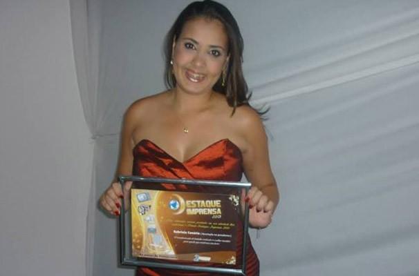 A editora de Web da TV Grande Rio, Gabriela Canário.  (Foto: Arquivo pessoal)