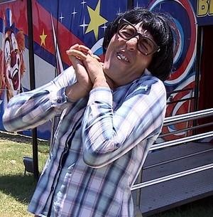 Zito vai ao circo (Foto: TV Sergipe)