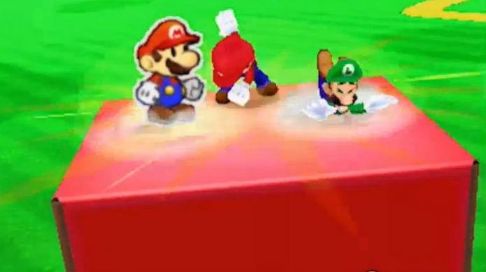 Mario & Luigi Paper Jam é um divertido crossover (Foto: Divulgação/Nintendo)