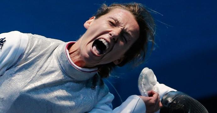 Valentina Vezzali esgrima olimpíadas 2012 (Foto: Reuters)