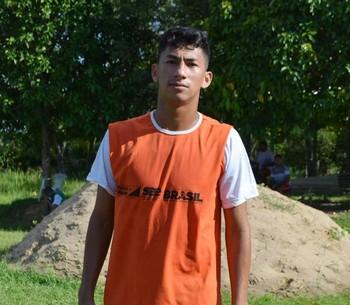 Mateus Sena, meia atacante do Andirá (Foto: Nathacha Albuquerque)