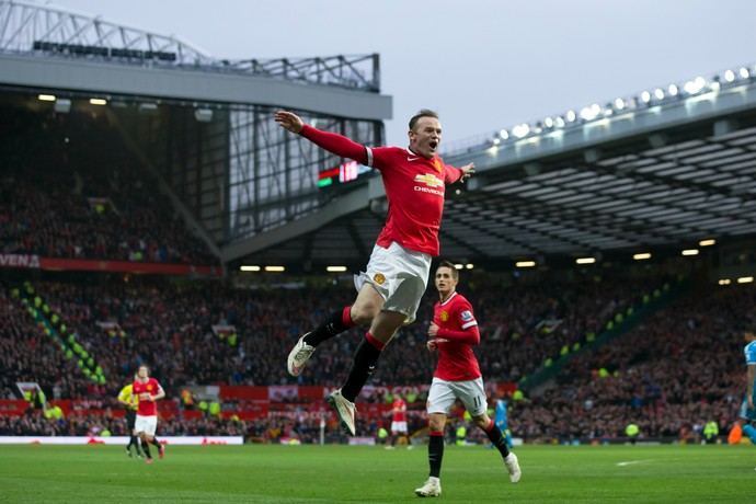Rooney Manchester United Sunderland (Foto: AP)