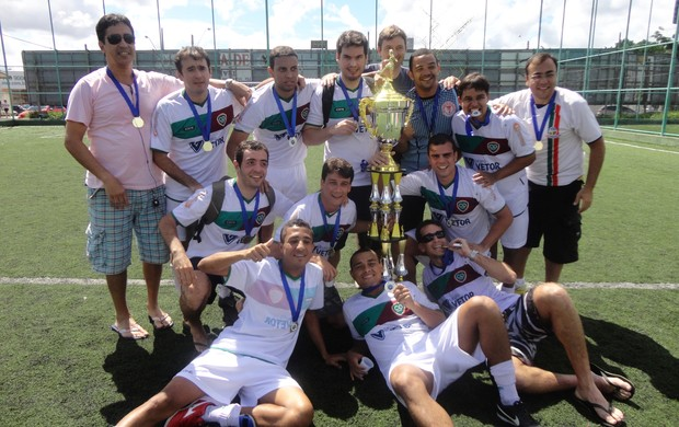 Clube Ítalo pentacampeão municipal de Vitória (Foto: Richard Pinheiro)