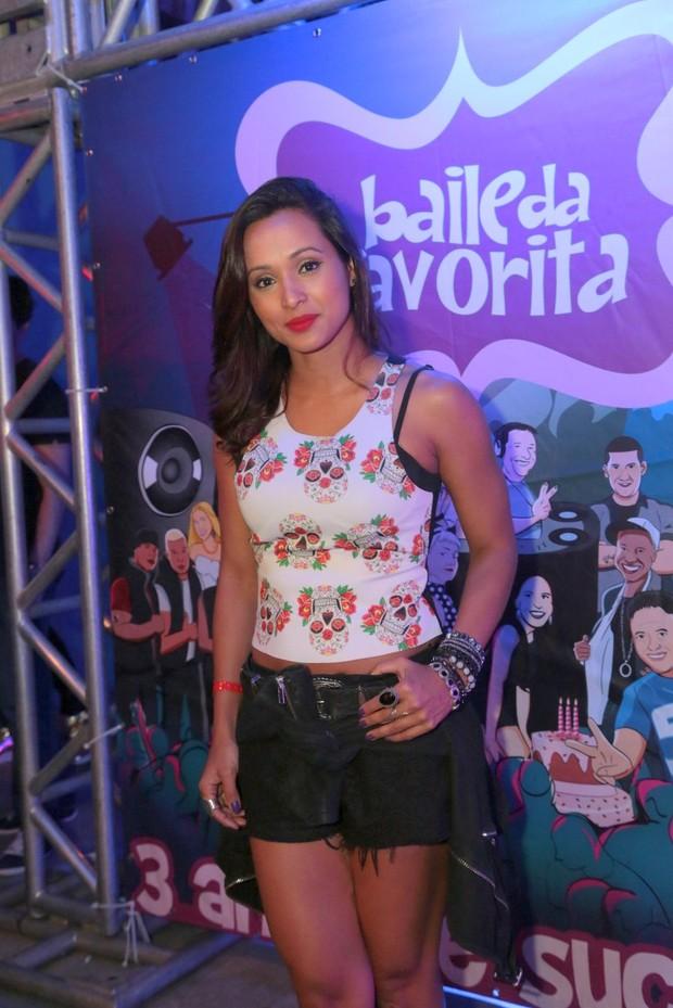 Thaíssa Carvalho no Baile da Favorita (Foto: Reginaldo Teixeira/Divulgação)