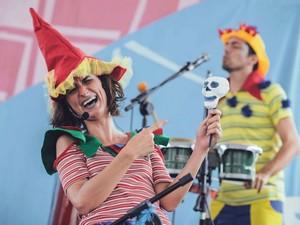 Bailinho de Carnaval acontece no Teatro SESC SENAC Pelourinho (Foto: Heder Novaes/Divulgação)