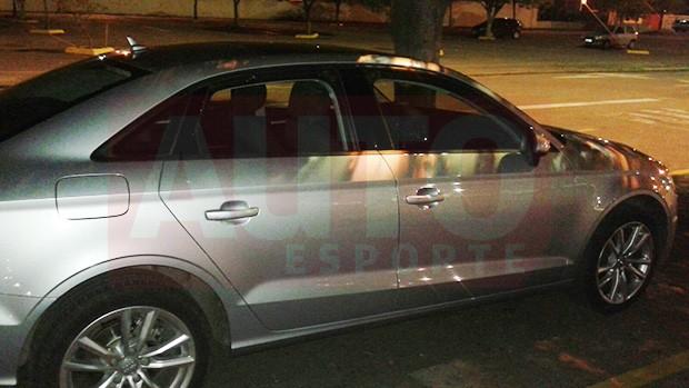 Audi A3 flex nacional é flagrado (Foto: Zé Silva/Autoesporte)
