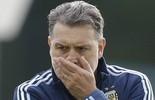 Argentina faz mistério, mas jornal revela pré-lista da Copa América  (AP Photo/Natacha Pisarenko)