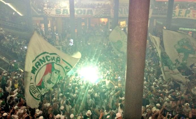 Palmeiras Congonhas torcida (Foto: Tossiro Neto)