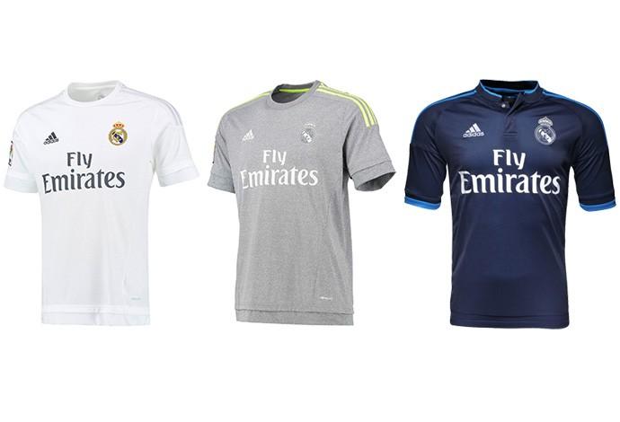 As camisas do Espanhol 2015 2016  Barça muda listras 736f9f6f5c6b0