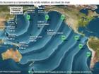 Saiba quais países seguem em alerta de tsunami após tremor no Japão
