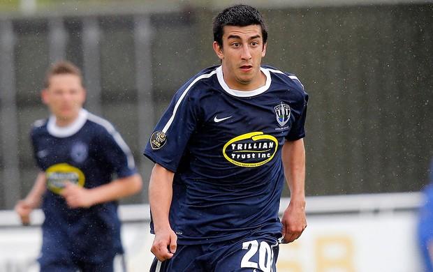 Emiliano Tade, argentino do Auckland City (Foto: Shane Wenzlick / Divulgação )