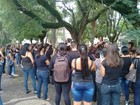 Professores protestam contra corte de benefícios em Lucélia