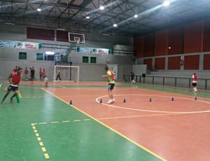 Atletas se preparam para brigar pelo bicampeonato (Foto: Fernanda Bonilha)