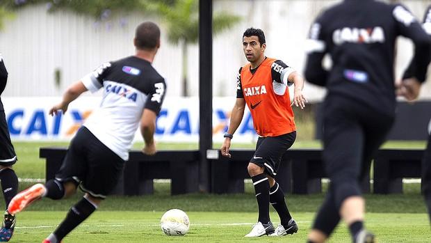 Maldonado treino Corinthians (Foto: Daniel Augusto Jr. / Ag. Corinthians)