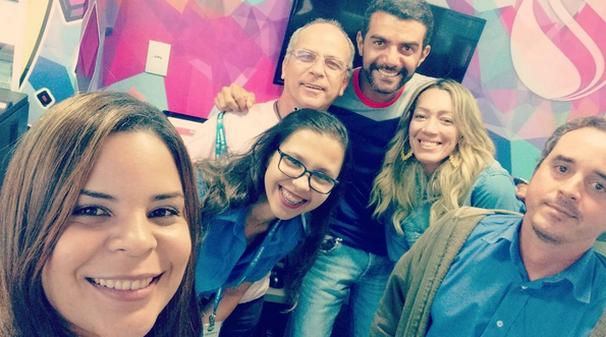 Parte da equipe do programa (Foto: Divulgação / TV Sergipe)