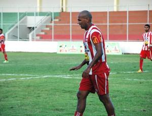 cristiano alagoano, atacante do auto esporte, auto esporte, atacante cristiano alagoano (Foto: Lucas Barros / Globoesporte.com/pb)