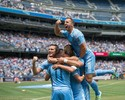 Com gol de David Villa, New York City vence clássico local e vira líder na MLS