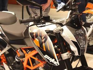 KTM 390 Duke (Foto: Rafael Miotto/G1)