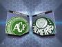 Jogo da Chapecoense e Palmeiras será transmitido neste sábado (21)