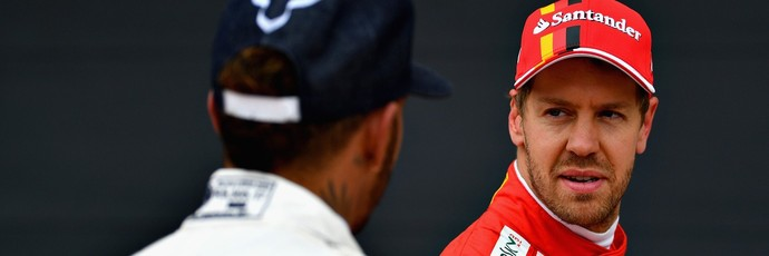 Vettel Hamilton F1 (Foto: Getty Images)