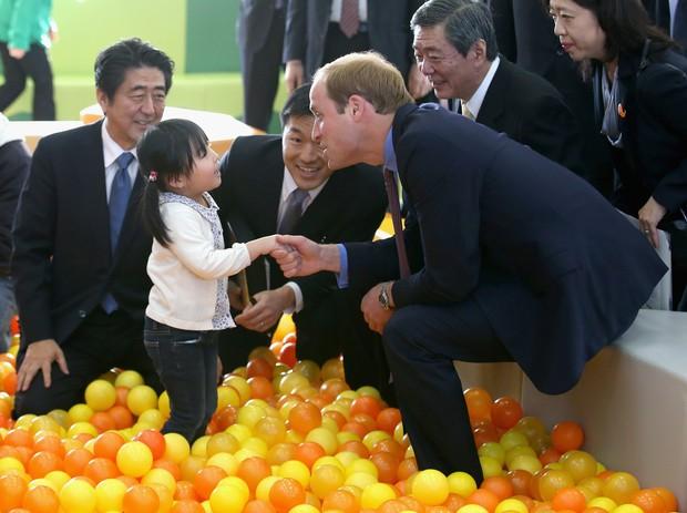 Príncipe William em visita ao Japão (Foto: Getty Images)