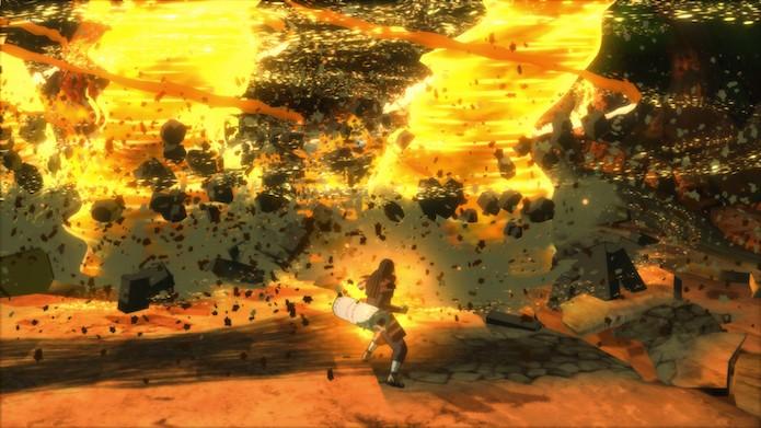 Naruto Shippuden: Ultimate Ninja Storm 4: saiba o momento certo de usar os truques de ninja (Foto: Divulgação/Bandai Namco)