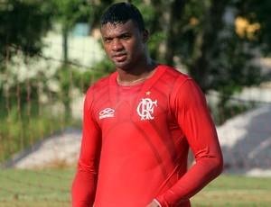 Felipe no treino do Flamengo (Foto: Maurício Val/VIPCOMM)