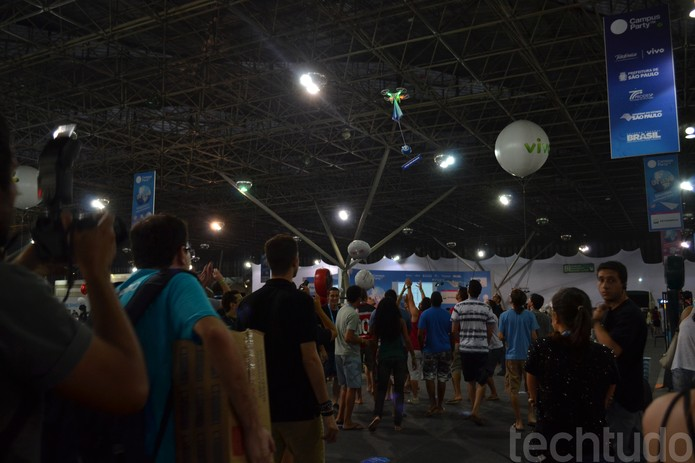 Corrida pelo drone (Foto: Melissa/TechTudo)