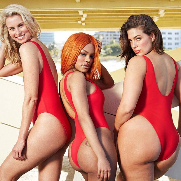Niki Taylor, Teyana Taylor e Ashley Graham (Foto: Divulgação)