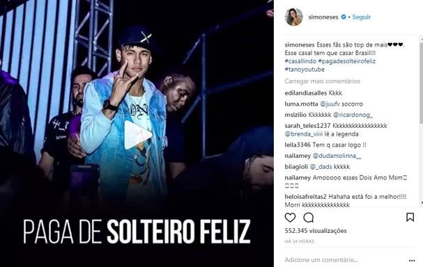 Simone e Simaria incentivam casamento (Foto: Reprodução/Instagram)
