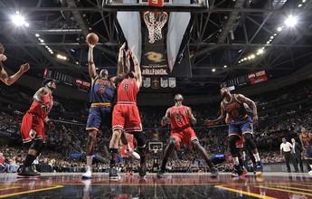 Bulls se aproveitam da ausência de LeBron e vencem os Cavaliers fora