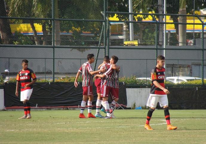 Fluminense Juniores sub-20 (Foto: Sofia Miranda / GloboEsporte.com)