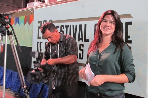 Carla Dantas considera as festas juninas o melhor período do ano (Foto: Katylenin França/TV Clube)