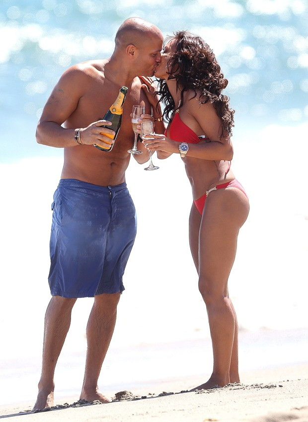 Mel B e Stephen Belefonte (Foto: Grosby Group)