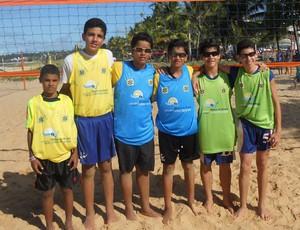 Circuito Paraibano de vôlei de praia - Sub-15 (Foto: Divulgação/FPV)